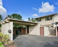 ココアイル414号 Koko Isle (Hawaii Kai)  一軒家と同様の楽しみ方ができるマリーナ側の ココアイルコミニティーのタウンハウス 売り値  $870,000.00    所有権